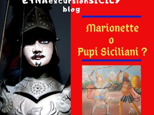 Marionette e Pupi siciliani sono la stessa cosa?